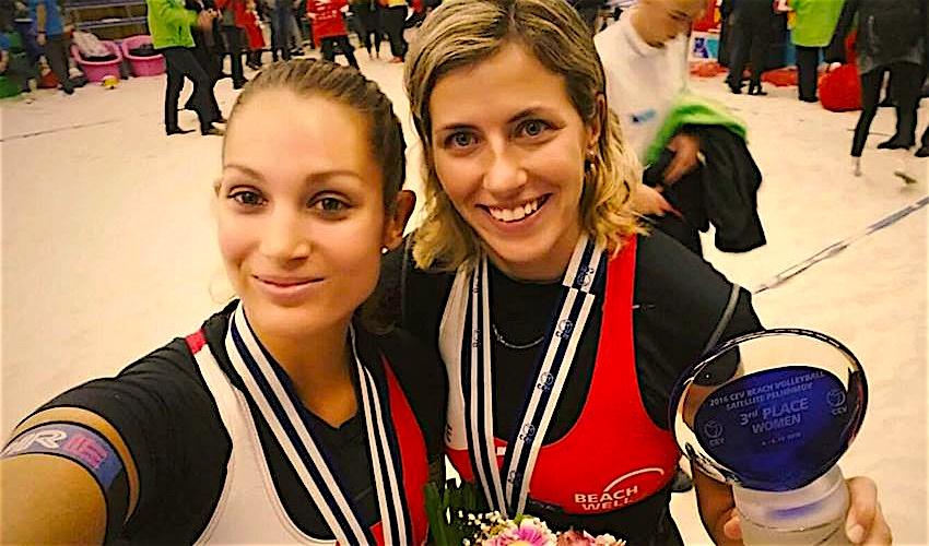 Bronzová medaile je krásný závěr sezóny, hodnotí Bonnerová s Nakládalovou