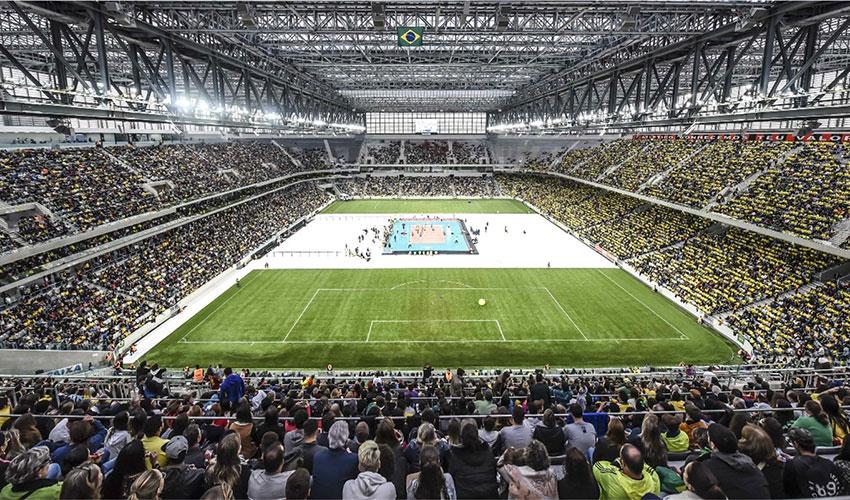Video na stadionu