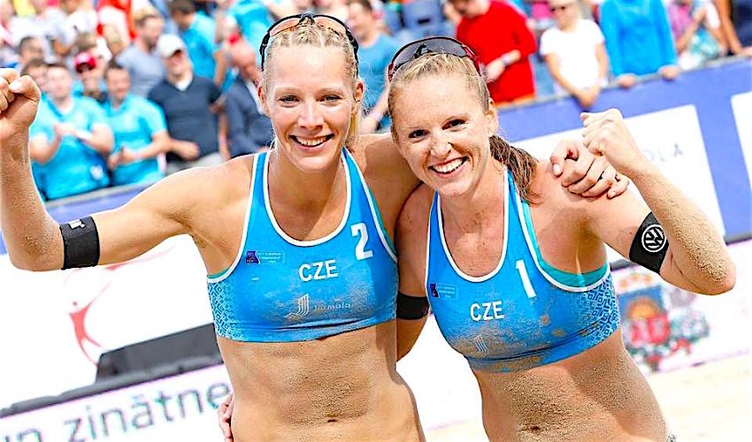 Splněný sen! Kolocová s Kvapilovou vyhrály na Evropě stříbrné medaile