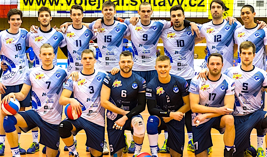 David Konečný dotáhl volejbalisty Kladna do finále!