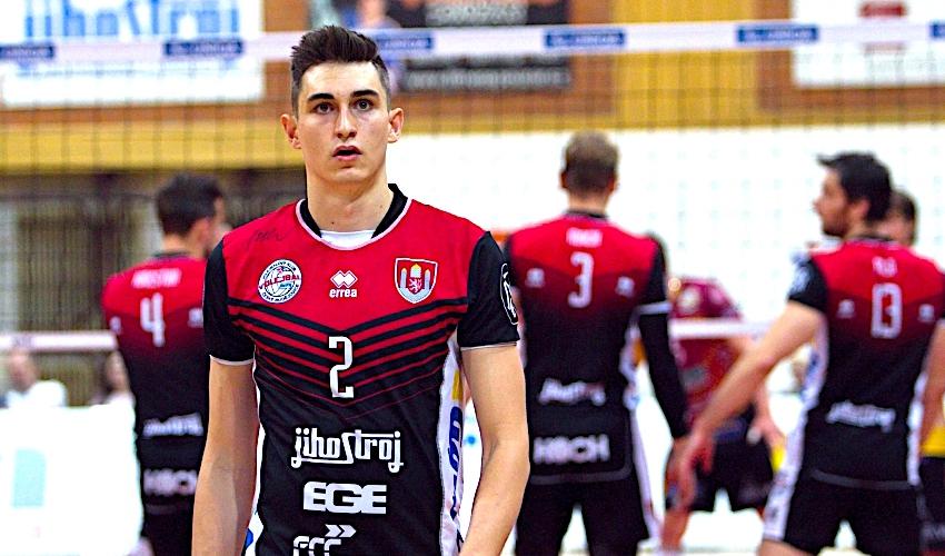 Německá liga je kvalitnější než česká, říká k přestupu volejbalista Palgut