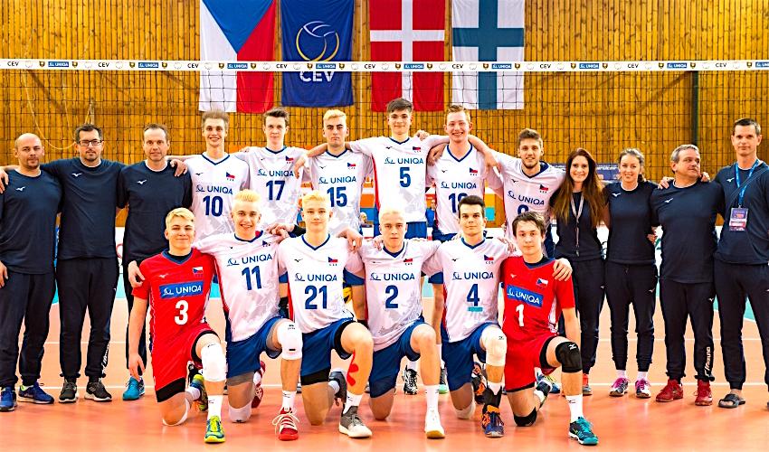 Volejbalová reprezentace U20 bude bojovat o mistrovství Evropy