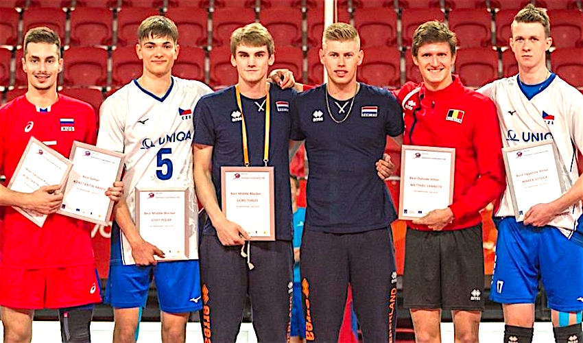 Nejlepší hráči! Šotola a Polák mezi hvězdami mistrovství Evropy