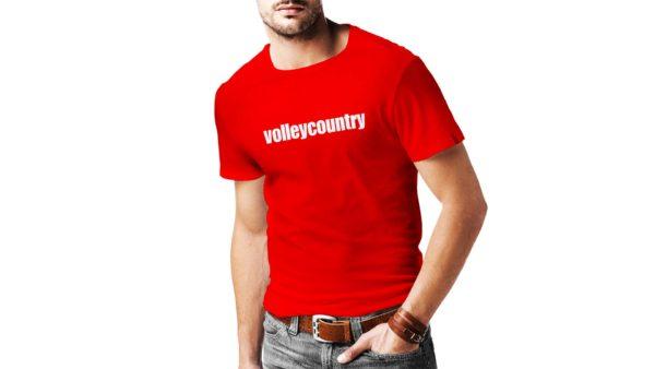 volleycountry tričko červené
