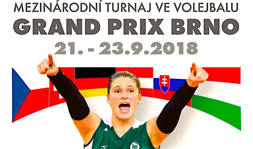 Brno ožije mezinárodním volejbalem! Na Grand Prix dorazí 5 zahraničních týmů