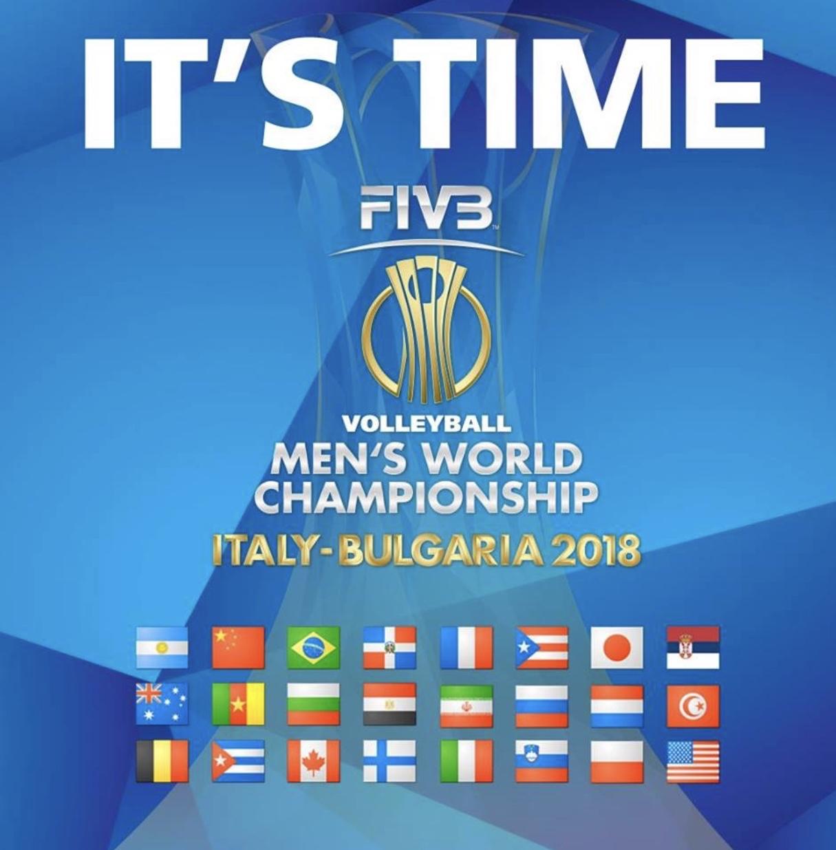 mistrovství světa ve volejbale 2018