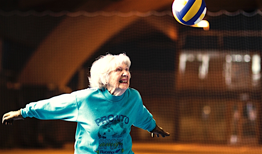 NOVINKA! Beachvolejbal pro seniory od 60 let zdarma