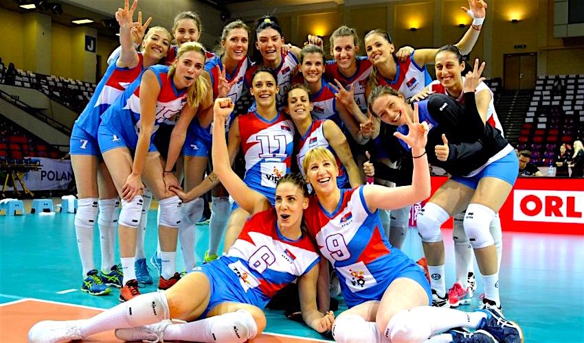 MS volejbalistek! Srbky postoupily do Final SIX jako první