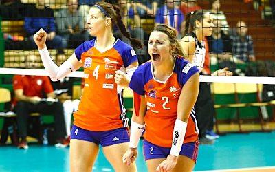 Volejbalistky Olomouce zahájily pohár CEV fantasticky! ZBelgie vezou vítězství