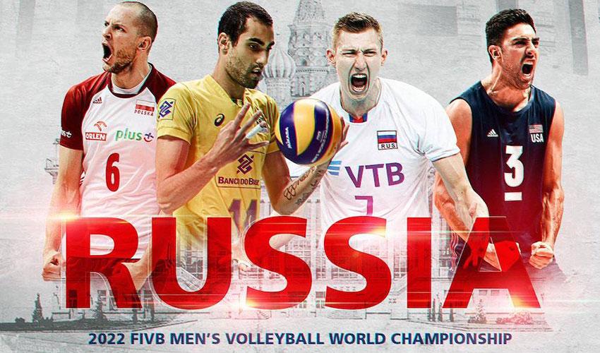 Potvrzeno! MS volejbalistů v roce 2022 pořádá Rusko