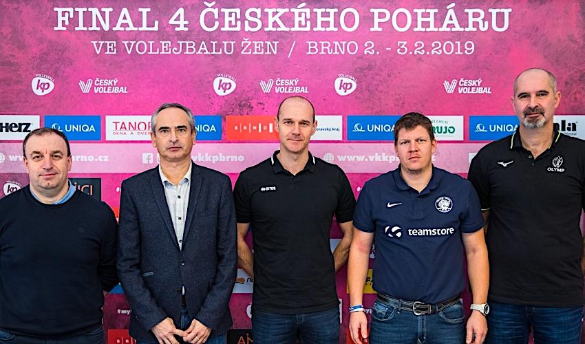 Volejbalové bitvy o Český pohár vypuknouo víkendu v Brně