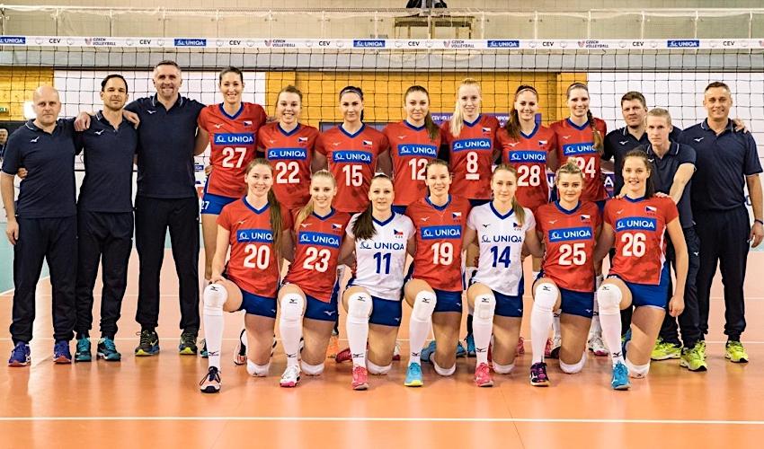 České volejbalistky na mistrovství Evropy nepostoupily
