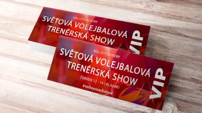 vstupenka světová volejbalová trenérská show 2020 VIP