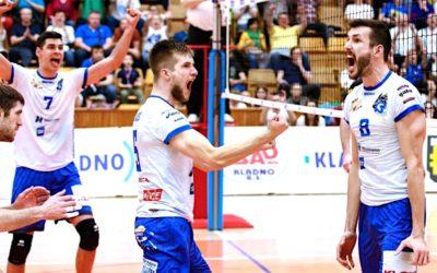 Volejbalisté Kladna byli vyhlášeni nejlepším týmem! V semifinále narazí na Liberec