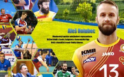 NOVINKA! Volejbalový kemp Aleše Holubce