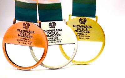 Olympiáda v Liberci má unikátní pochodeň z křišťálu