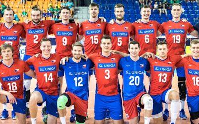 Čeští volejbalisté se utkají s Běloruskem vJindřichově Hradci