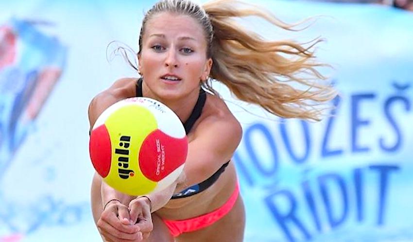 Super! Beachvolejbalistky Kvapilová s Kubíčkovou jsou v osmifinále ME