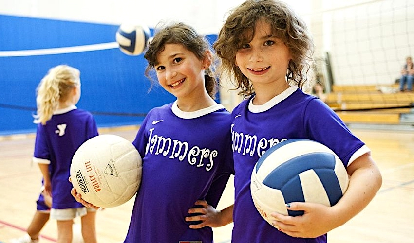 Hraj volejbal!  Nábor dětí do volejbalu v Českých Budějovicích