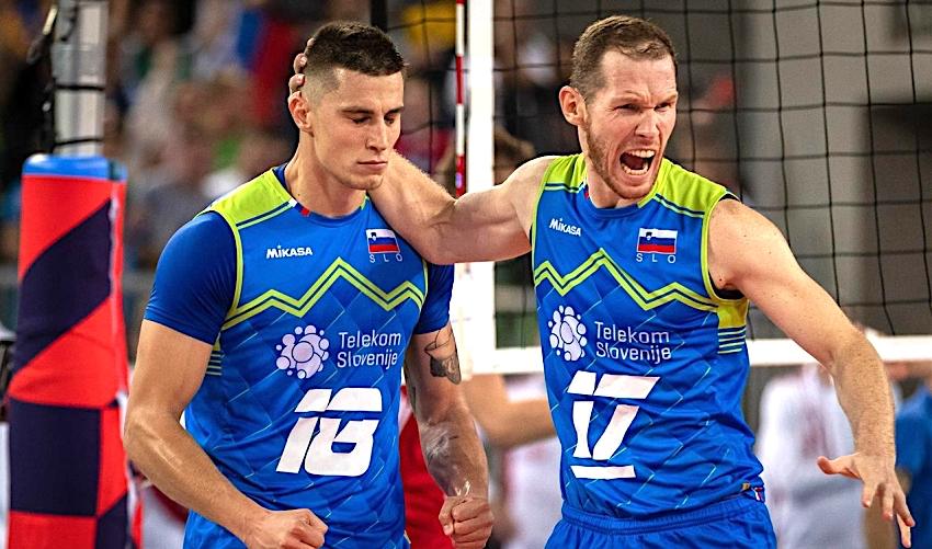 Senzace! Dechberoucí bitvu vyhráli volejbalisté Slovinska a jsou ve finále ME