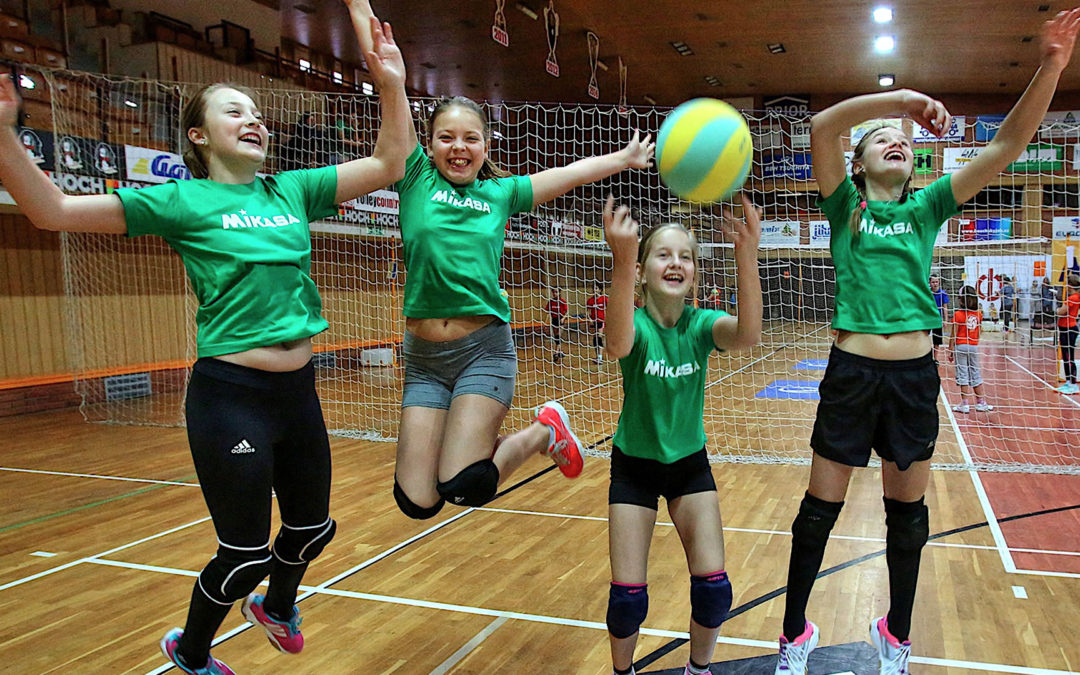 Volejbalový život | Škola trénování pro děti do 12 let
