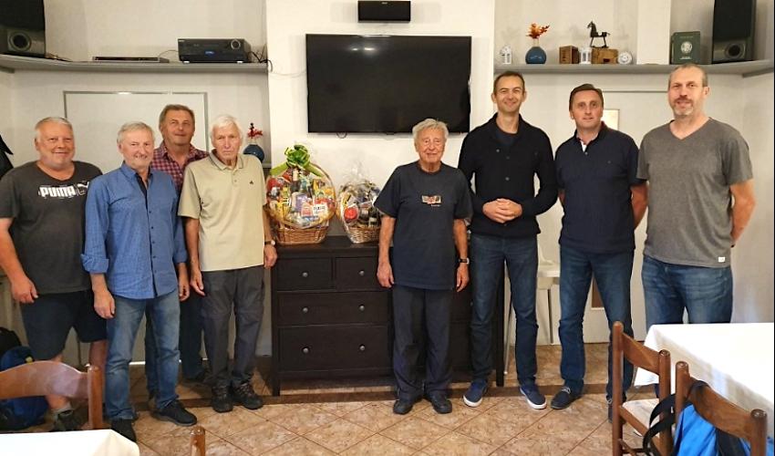 Stříbrný medailista z OH Milan Čuda slaví osmdesáté narozeniny