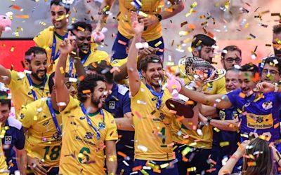 FOTO: Vítězem Světového poháru je Brazílie!