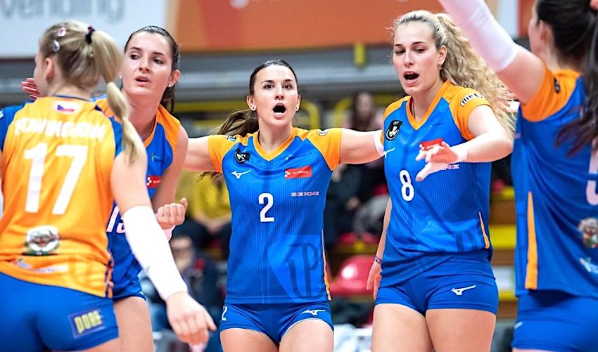 Bez překvapení. Do boje o finále Poháru jdou volejbalistky Olomouce