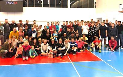 200 piv! Novoroční turnaj volejbalistů v Č. Budějovicích měl unikátní cenu