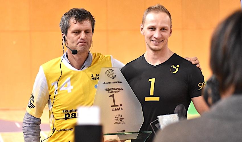 Brněnští volejbalisté vyhráli mezinárodní turnaj ve Slovinsku