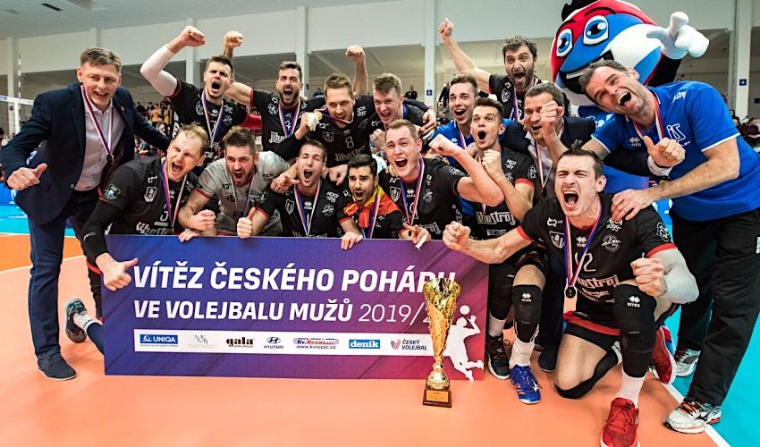 Vítězství v Českém poháru obhájily České Budějovice