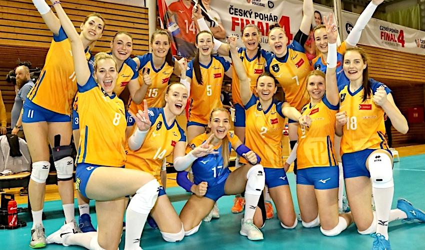 Olomouc či Olymp? Kdo vyhraje Český pohár volejbalistek?