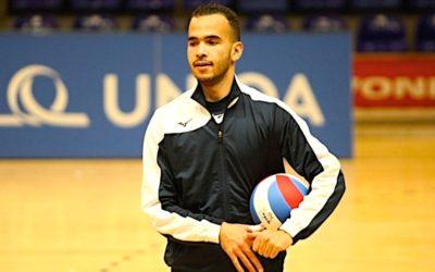 Maročan Lamri se v Česku zamiloval při MS. Ve Zlíně bude hrát dál