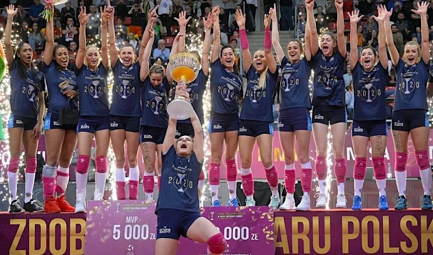 16 tisíc eur pro vítězky! Polský pohár vyhrály volejbalistky z Police