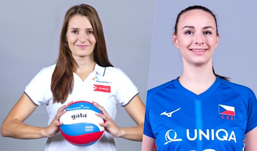 Reprezentantky Hodanová a Patočková mění volejbalový dres