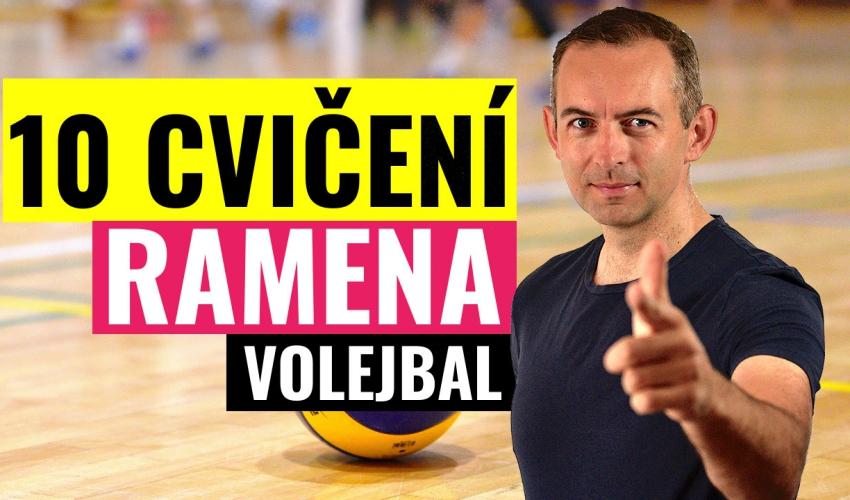 10 cvičení na ramena! Nový volejbalový YouTube kanál Popelka Volley