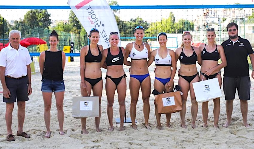 Brněnská Riviéra hostila Letní pohár žen v plážovém volejbalu