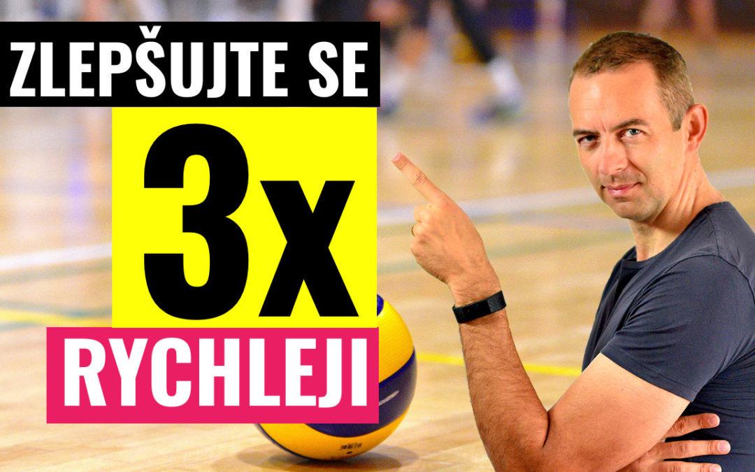 Zlepšete se 3x rychleji! Jedinečná volejbalová cvičení pro vás