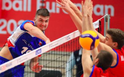 Čeští volejbalisté podlehli Itálii ve třech setech