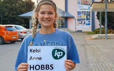 Posila z USA! Dres KP oblékne volejbalistka Kelsi Hobbs