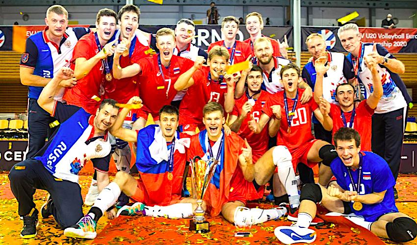 Volejbalové ME U20 v Brně vyhrálo Rusko, Češi skončili poslední