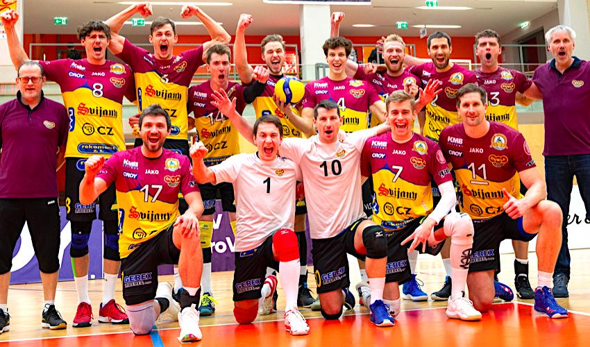 Výhra a postup! Liberec v poháru CEV rozdrtil AICH/DOB 3:0