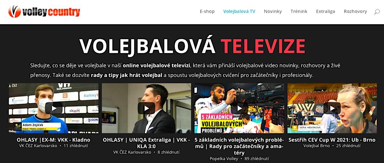 volejbalová televize