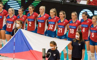 Volejbalistky suverénně ovládly první turnaj Evropské ligy