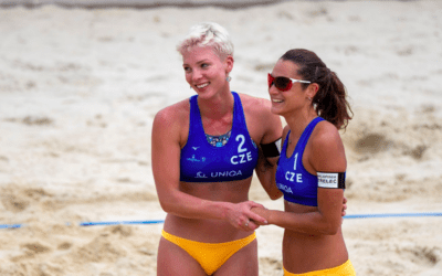 Český pár vybojoval V Brně na Beach Open 2021 stříbro