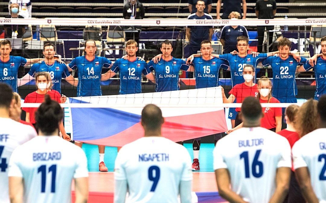 Česká reprezentace porazila olympijské vítěze bez ztráty setu
