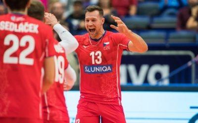 Volejbalisté porazili Černou Horu a přiblížili se kvysněnému osmifinále