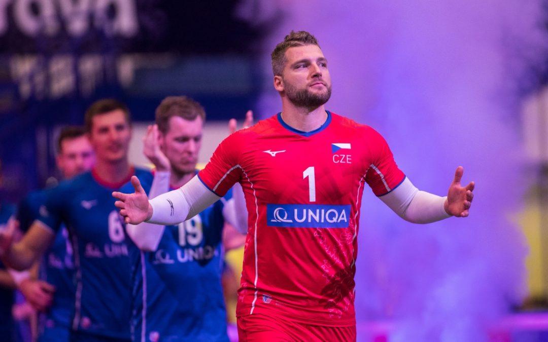 Čeští volejbalisté se rozloučili s Ostravou i s mistrovstvím Evropy