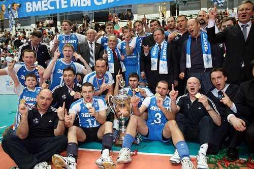 kazan volleyball russia champ 2009