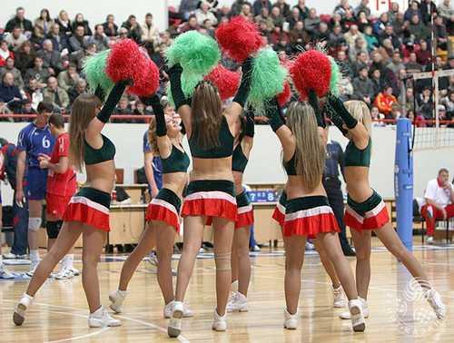 russian hot cheerleaders